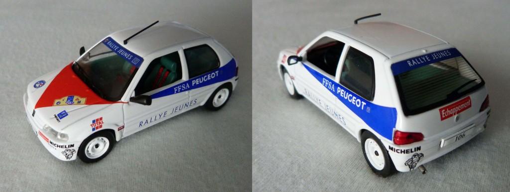 Peugeot 106 Rallye des jeunes 1996