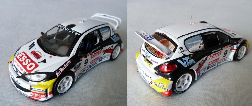 206 WRC Blanche