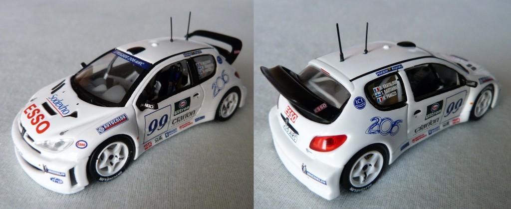 206 WRC blanche test