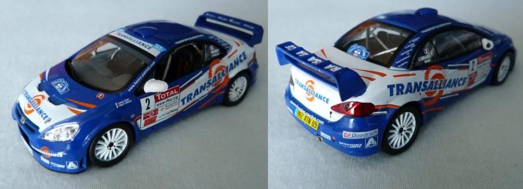 307 WRC Bleu
