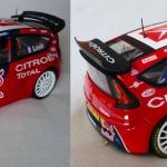 Citroën C4 WRC Test car 2008 S. Loeb et D. Elena