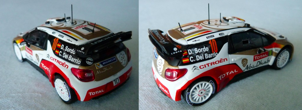 Citroen DS3 WRC  MC 2013 Sordo AR