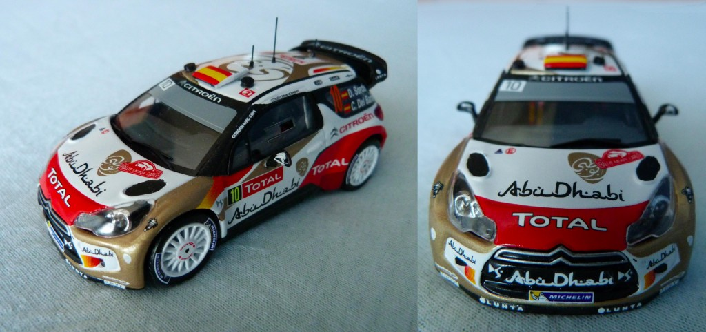 Citroen DS3 WRC  MC 2013 Sordo AV