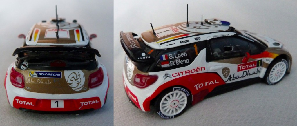DS3 WRC MC 2013 Loeb AR