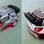 Citroën DS3 WRC Rallye du Portugal 2012 N. Al-Attiyah et G. Bernacchini