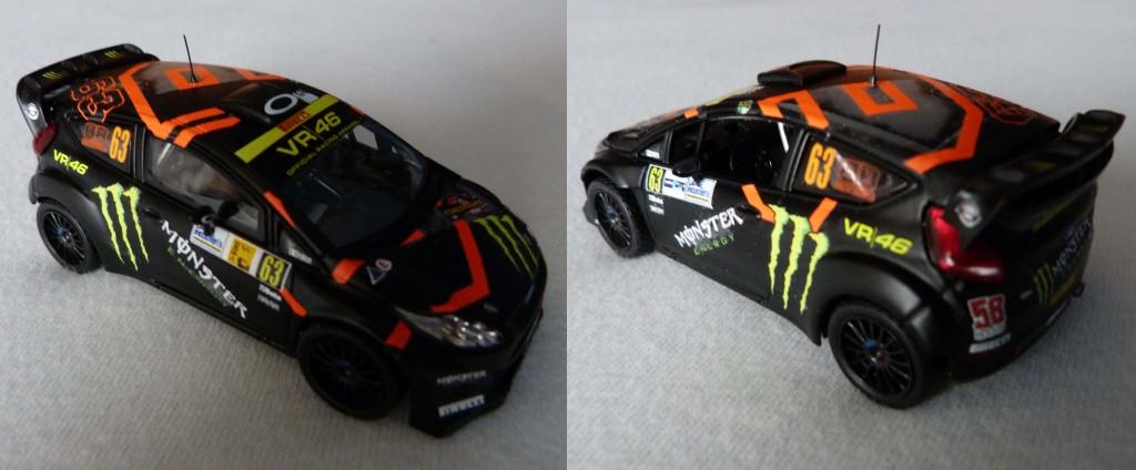 Fiesta RS WRC Brivio Monza show 2011