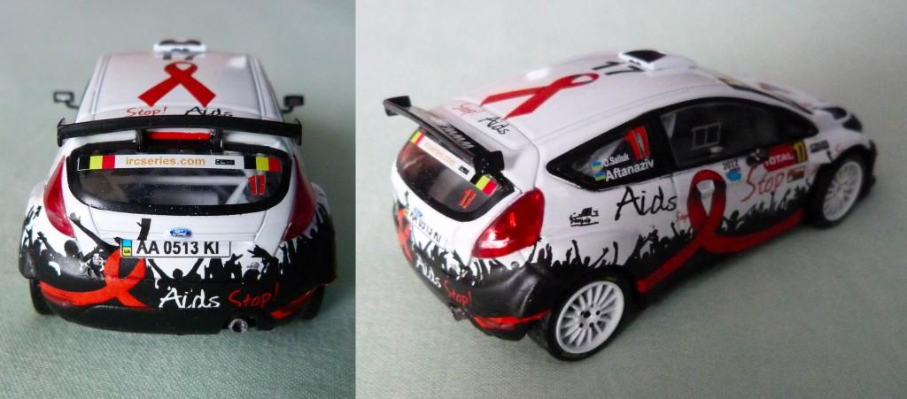 Fiesta S2000 Rallye Ypres 2012 O.Saliuk AR