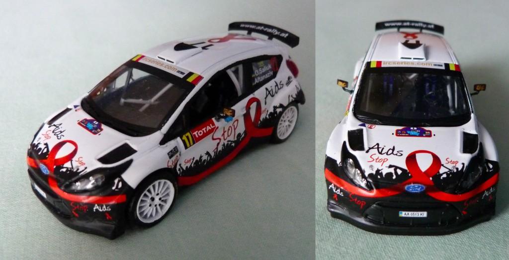 Fiesta S2000 Rallye Ypres 2012 O.Saliuk AV