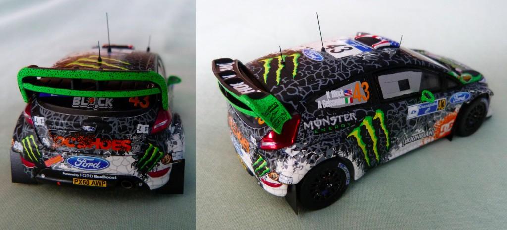 Fiesta WRC Ken block Mexique 2012
