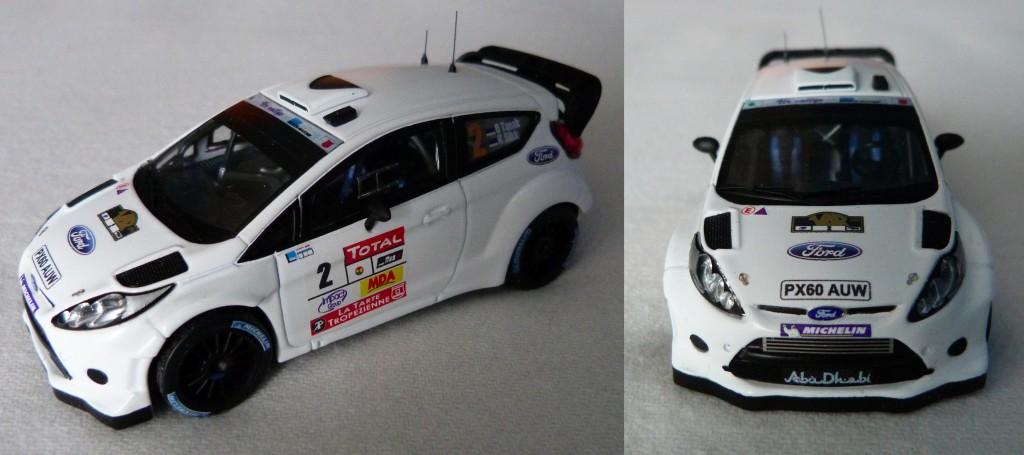 Ford Fiesta WRC Rallye du var 2011 Tanak AV