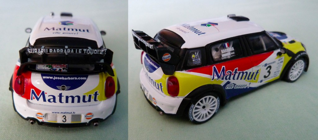 Mini wrc Barbara Touquet 2013 AR