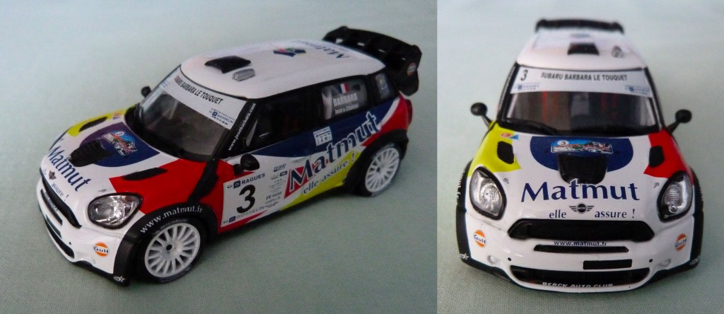 Mini wrc Barbara Touquet 2013 AV