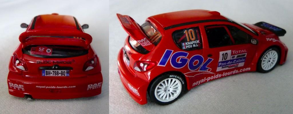 Peugeot 206 WRC Touquet 2012 Knapick AR