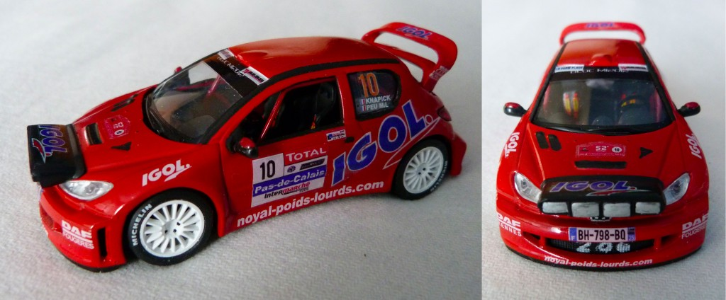 Peugeot 206 WRC Touquet 2012 Knapick AV