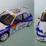 Peugeot 306 Maxi Rallye du Monte Carlo 1998 F. Delecour et D. Grataloup