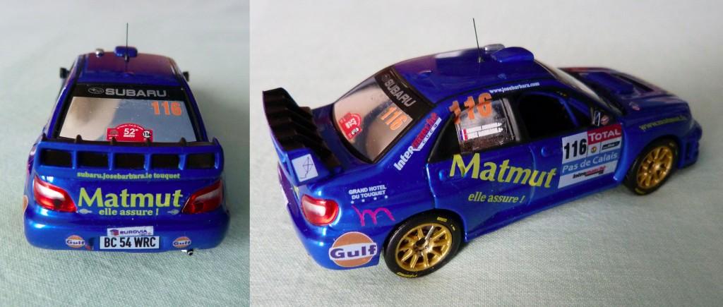 Subaru wrc Barbara Touquet 2012