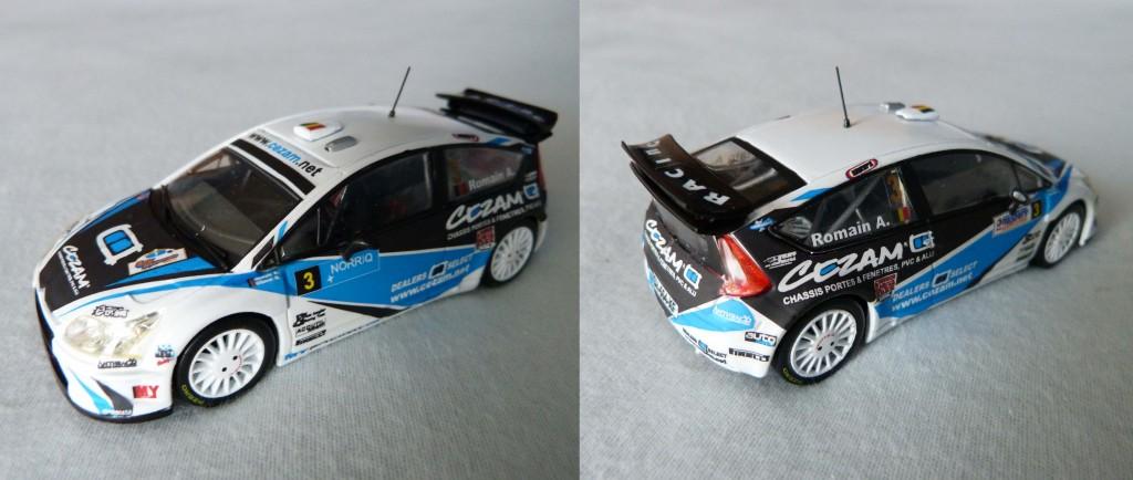C4 WRC A.Romain