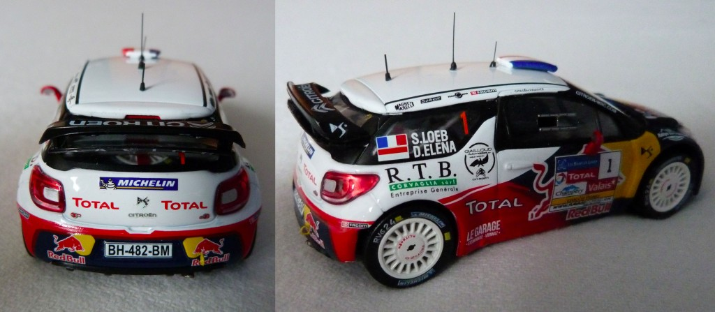 DS3 WRC Chablais 2012 Loeb AR