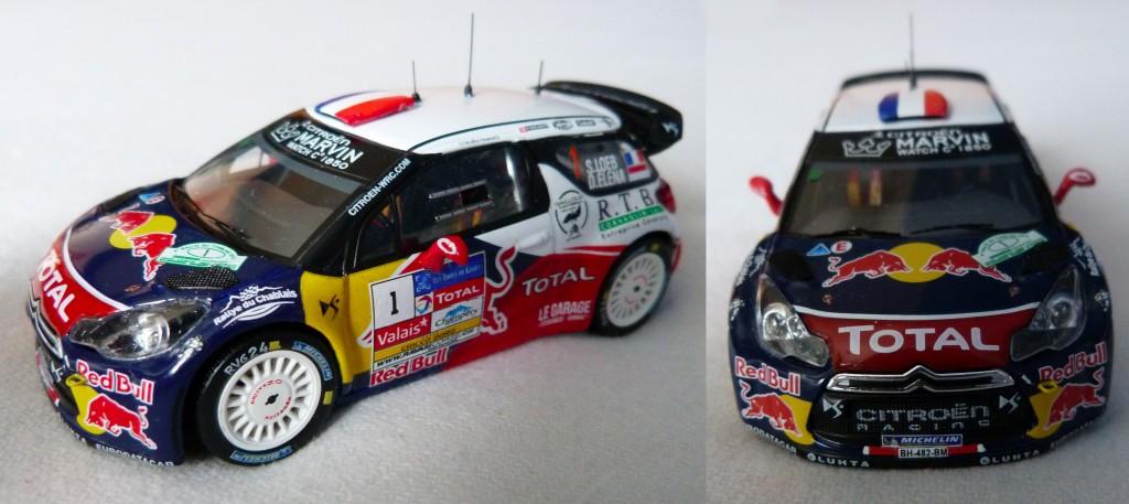 DS3 WRC Chablais 2012 Loeb AV