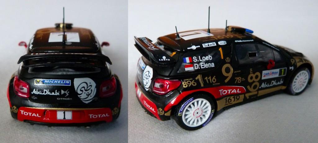 DS3 WRC France 2013 Loeb AR