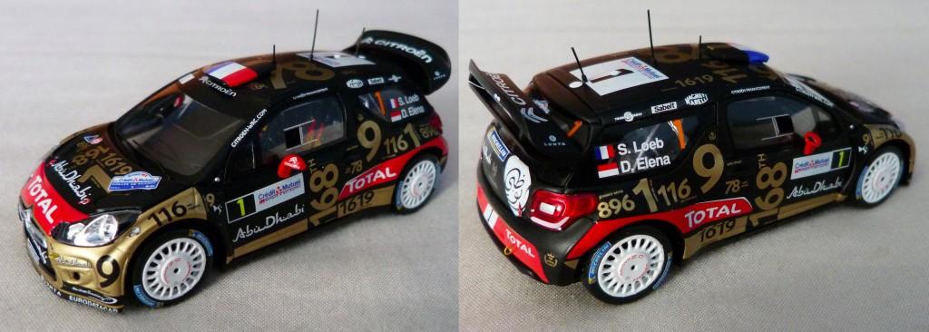 DS3 WRC France 2013 loeb