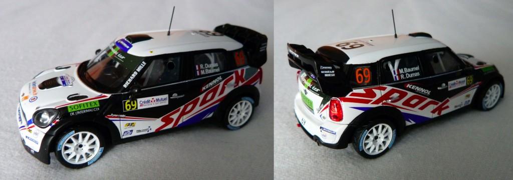 Mini WRC Rallye de France 2012 R.Dumas