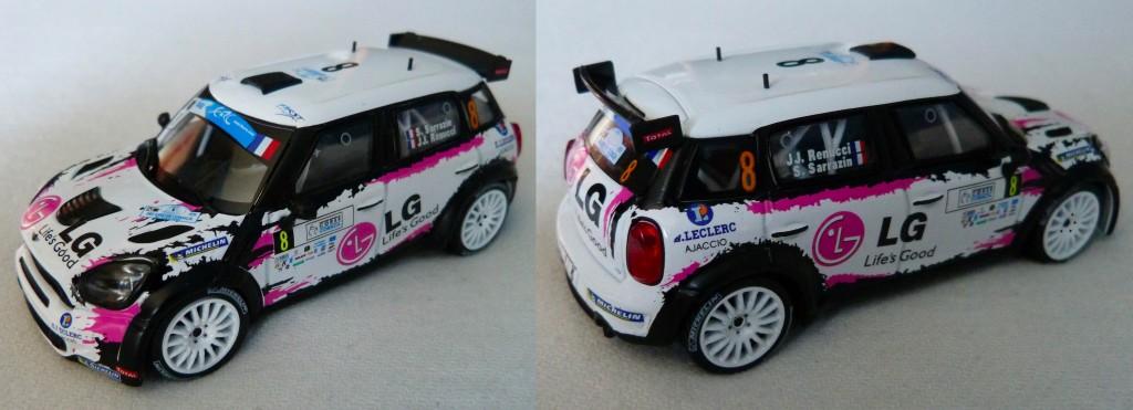 Mini WRC Tour de Corse 2013 Sarrazin