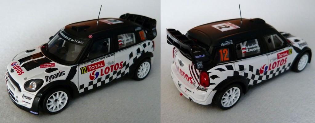 Mini jcw wrc Monte Carlo 2013 Kosciuszko