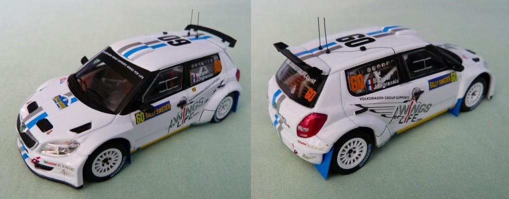 Skoda S2000 Ogier MC 2012