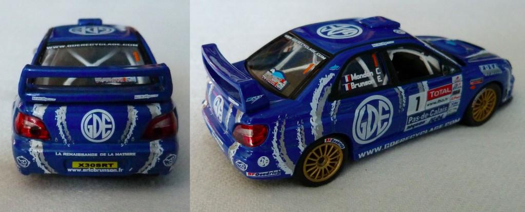 Subaru S7 WRC Touquet 2008 Brunson AR