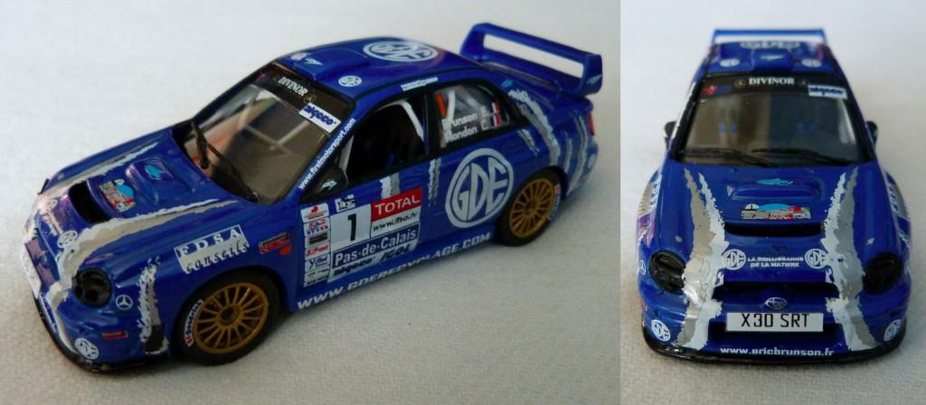 Subaru S7 WRC Touquet 2008 Brunson AV