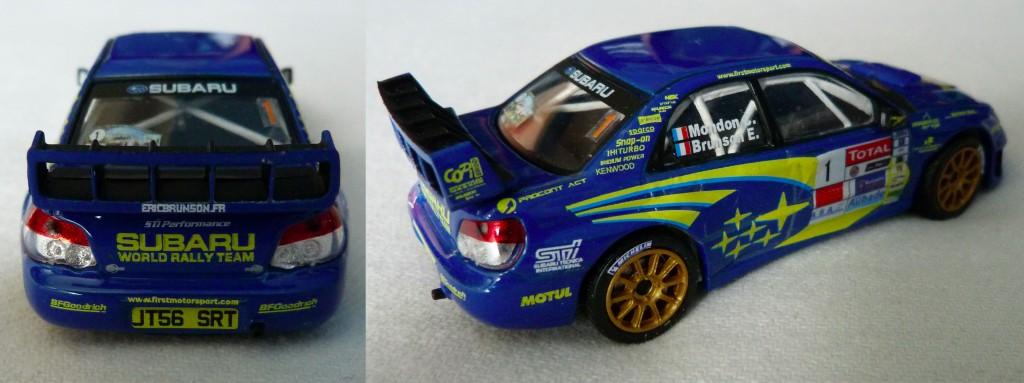 Subaru WRC Cevennes 2011 Brunson AR