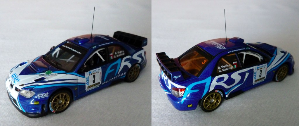 Subaru wrc Kubica ronde gomitolo 2012