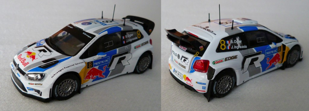 Volkswagen Polo R WRC Finlande 2013 Ogier