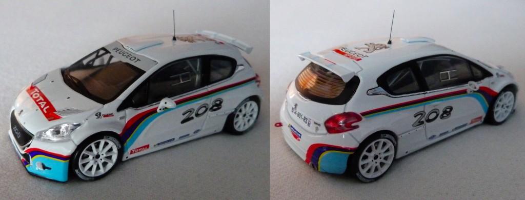 208 T16 R5 Test car 2013