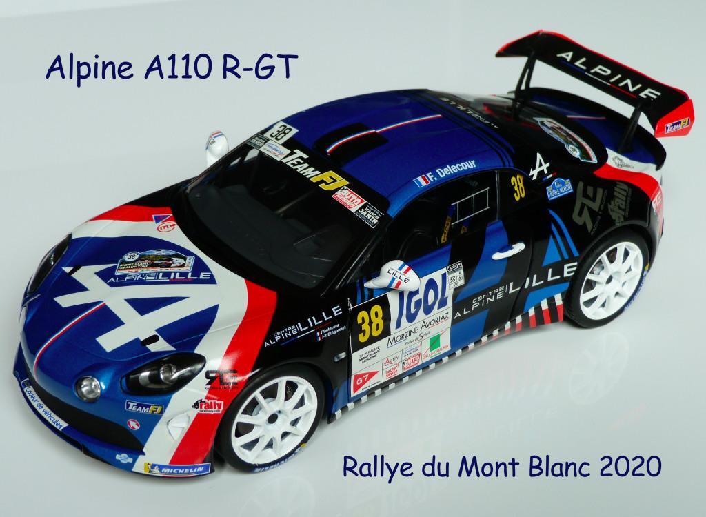 Alpine A110 R-GT Mont Blanc 2020 1-18