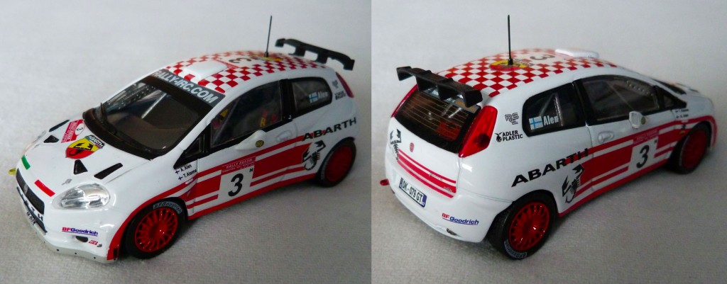 Punto Abarth S2000 Russe 2007