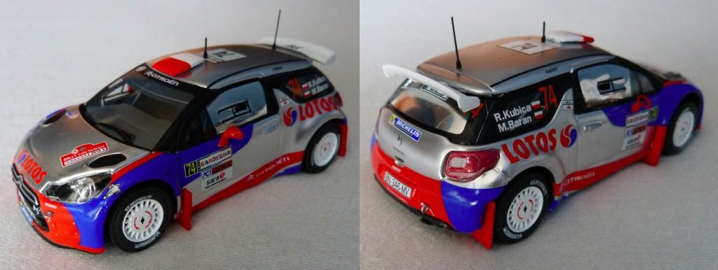 DS3 RRC Kubica Italie 2013