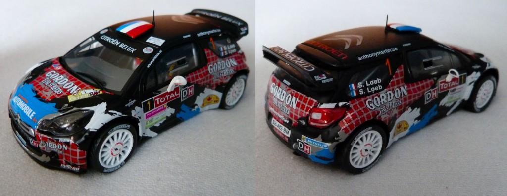 DS3 WRC Condroz 2013 Loeb