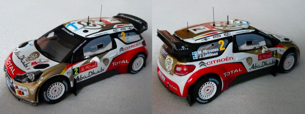 DS3 WRC Portugal 2013 Hirvonen
