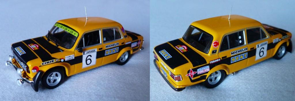 Seat 124 FL 1800 Rallye Race 1977
