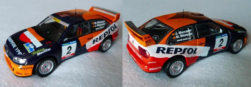 Seat Cordoba WRC RAC 2001