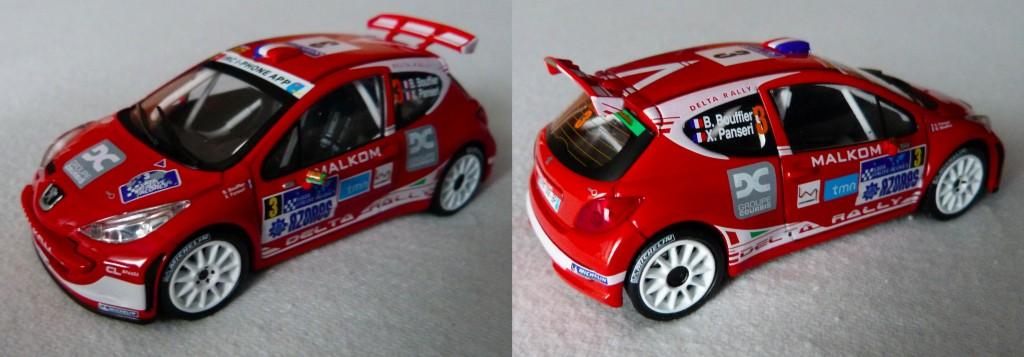 207 S2000 Rallye Açores 2012 Bouffier