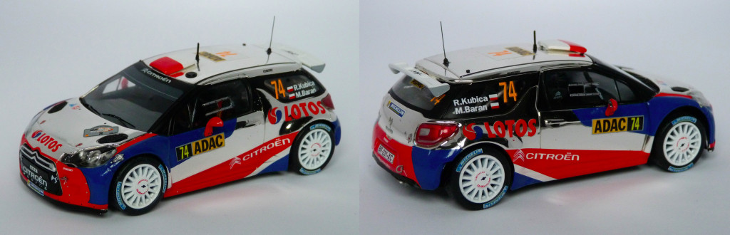 DS3 RRC Allemagne 2013 Kubica