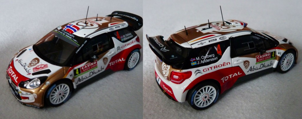 DS3 WRC MC 2014 Ostberg