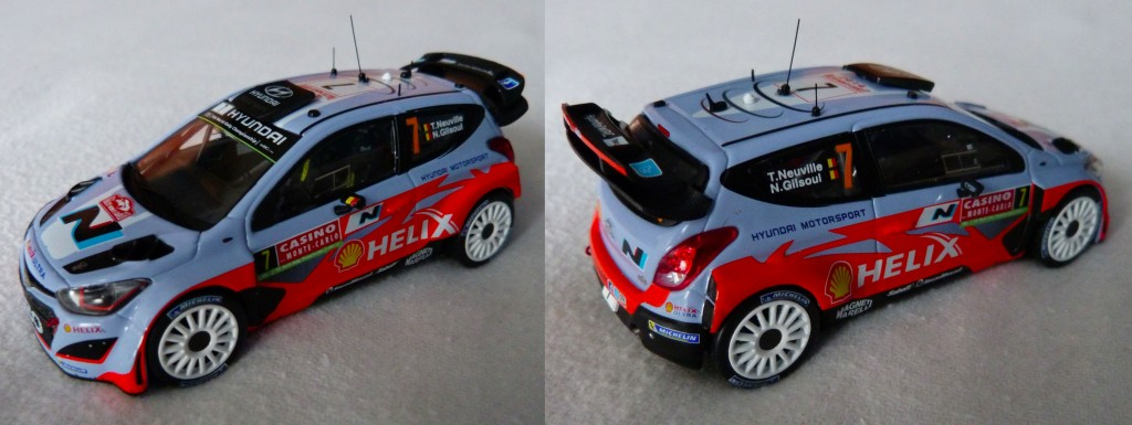 Hyundai i20 WRC MC 2014 Neuville