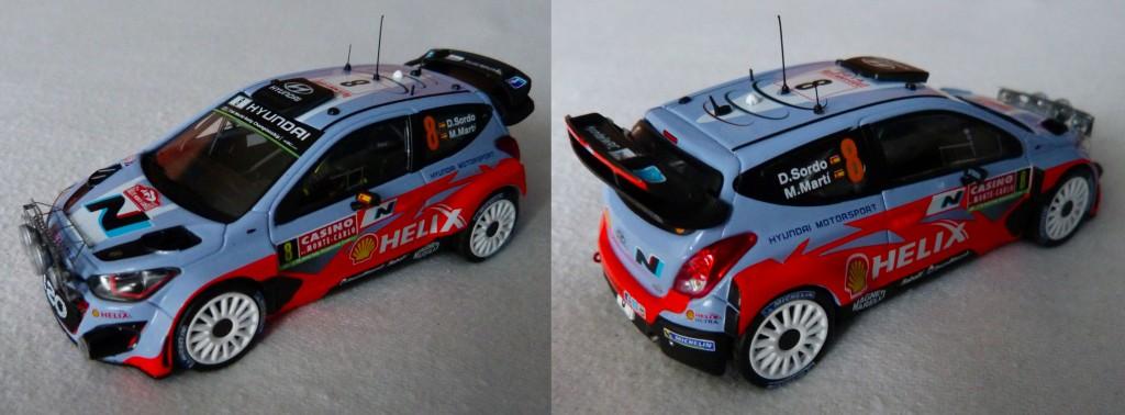 Hyundai i20 WRC MC 2014 Sordo rampe