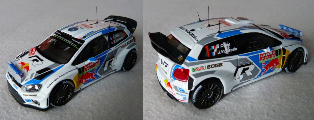 Polo WRC MC 2014 Ogier rampe