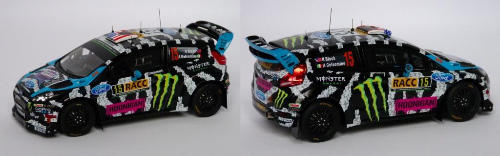 Fiesta RS WRC Espagne 2014 Block