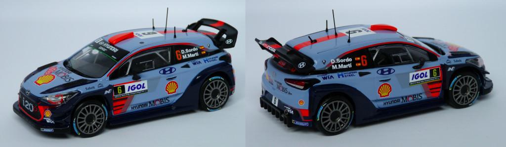 Hyundai I20 WRC Sordo Tour de corse 2017